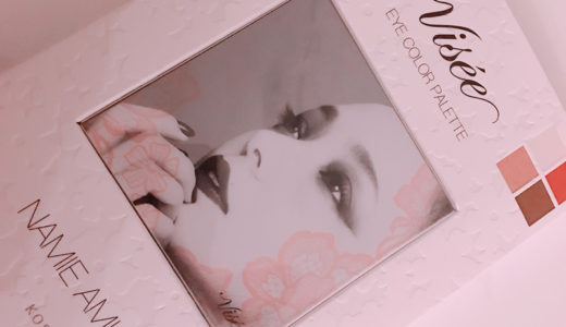 Visee ヴィセリシェ アイカラーパレットNA02 安室ちゃんシャドウを久しぶりに使いました。
