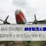雨の日の所沢 航空記念公園